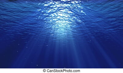Underwater background -  Underwater background