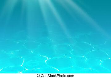 underwater, baggrund