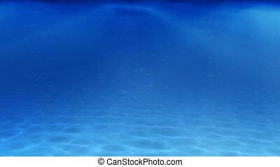 underwater, blasen