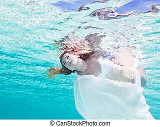 Underwater fairy tail
