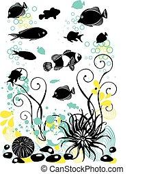Underwater Life  - seascape