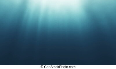 underwater ray abstract