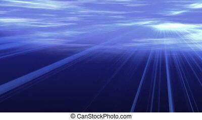 underwater ray