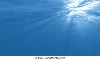 underwater scene seamless loop