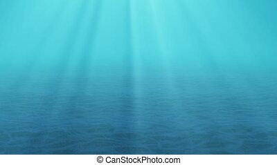 underwater, sonne- strahlen