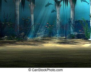Underwater  - 3D Render