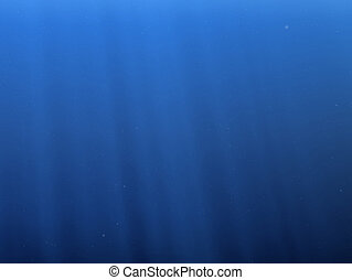 underwater - 3d rendered illustration of a water background