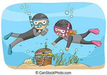Underwater Treasure