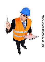 une, inquisiteur, ingénieur travaux publics