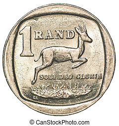 une, rand, monnaie, sud-africain