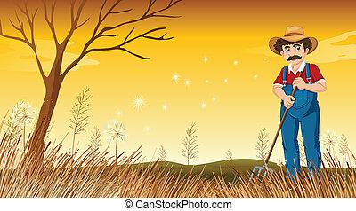 Art et illustrations de orange r teau homme 24 clip art for Recherche jardinier 77