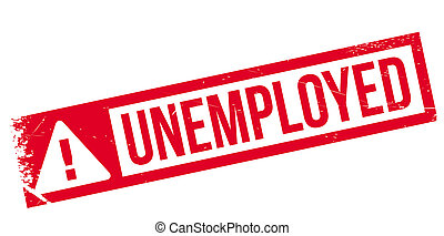 Unemployed rubber stamp