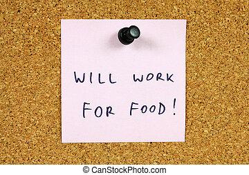 Unemployment concept