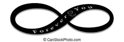 Unendlichkeit, Liebe,Endlos, Symbol - unendlichkeit, liebe,...