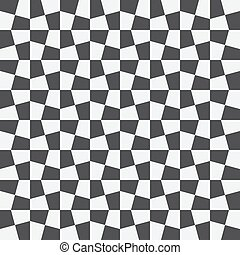 Unequal checks, abstract checkered background. Vector ...