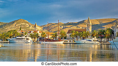 UNESCO city of Trogir skyline - UNESCO city of Trogir...