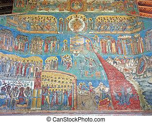 Unesco heritage - Voronet monastery