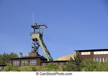 UNESCO World Heritage Mines of Rammelsberg, Goslar, Harz, Lower Saxony, Germany