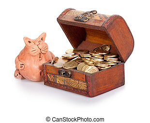 Unexpected riches - The surprised clay cat costs near to a...