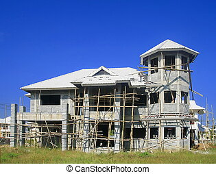 unfinished house