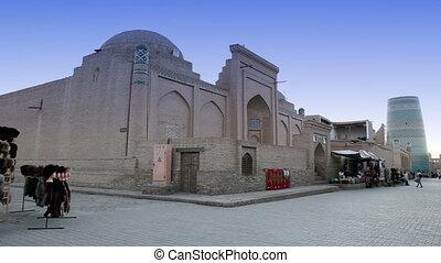 unfinished Kalta Minor Minaret. Khiva, Uzbekistan