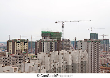 unfinished multistory buildings in china