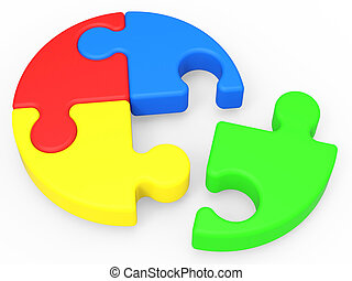 Unfinished Puzzle Shows Solving And Ending - Unfinished ...