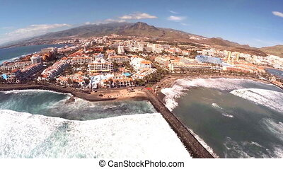 Unforgettable vacation in Tenerife. Exotic plants and trees,...