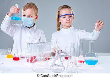 ung, forskare