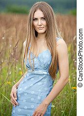 ung kvinde