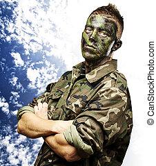ung, soldat