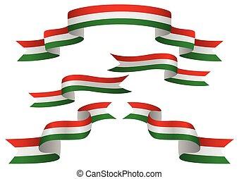ungarn markierungsfahne, banner
