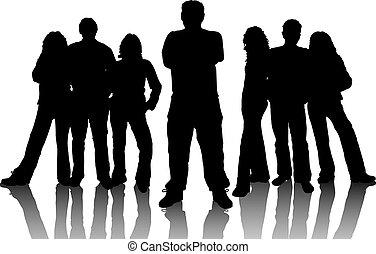 unge mennesker