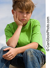 Unhappiness or Depression - Unhappy, lonely or sulky child.