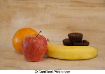 Unhealthy or healthy dessert