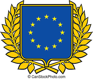 união européia, emblema