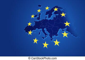 união, fundo, europeu
