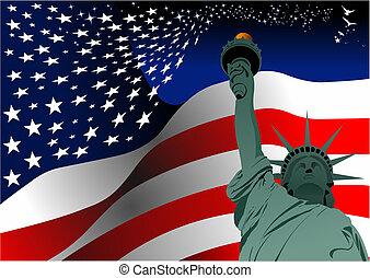 uni , ανεξαρτησία , 4th , ημέρα , ιούλιοs , %u2013
