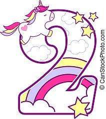 unicorn number 2