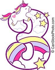 unicorn number 3