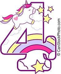 unicorn number 4