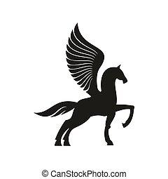 Mlp Base - Mlp Base Pegasus And Unicorn - Free Transparent PNG Clipart  Images Download