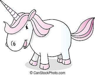 Unicorn Vector Illustration