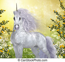 Unicorn White Male