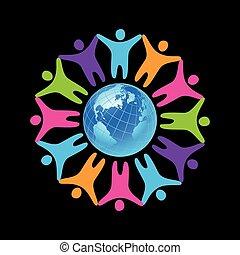unidade, pessoas