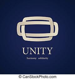unidade, vetorial, desenho, símbolo, modelo