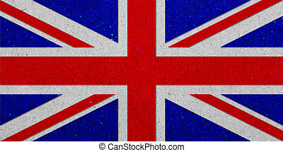 unidas, kingdoml, grunge, bandeira, ligado, papel, fundo