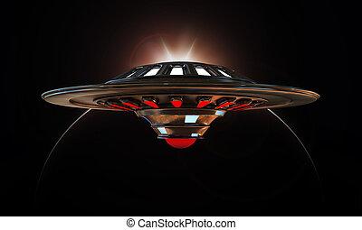 unidentified flying object - unidentified object flying