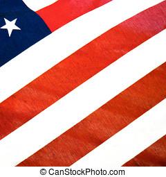 unido, américa, estados, bandera