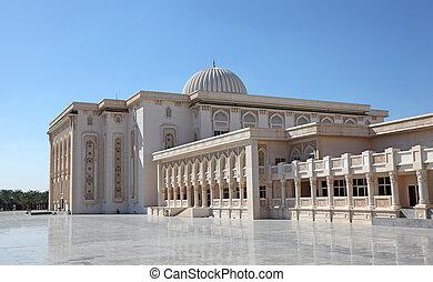 unido, universidad, americano árabe, emiratos, sharjah